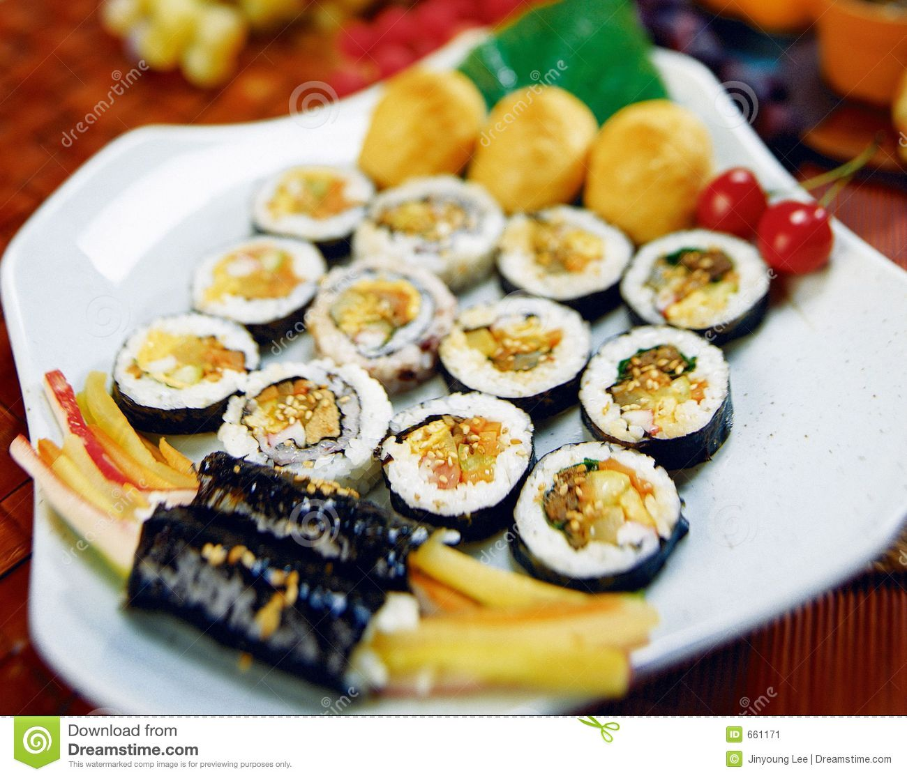 Korean Food Stock Image - Image: 661171