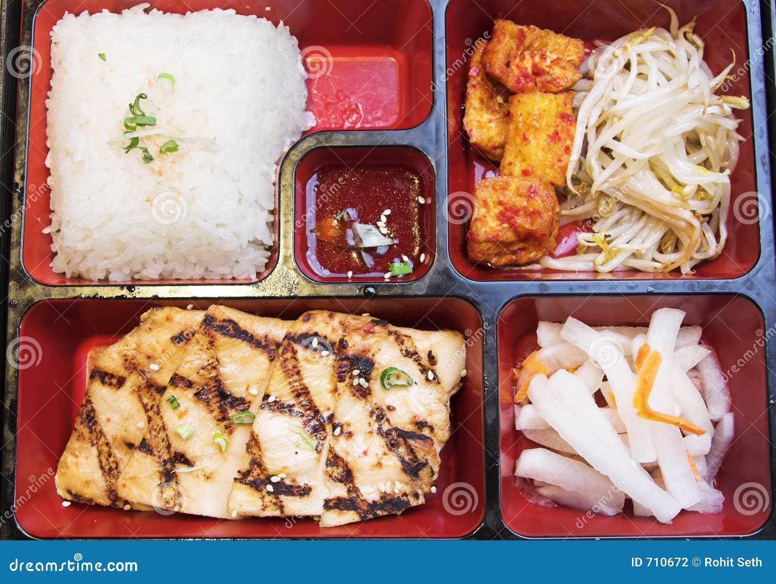 Korean Food - Pento Box