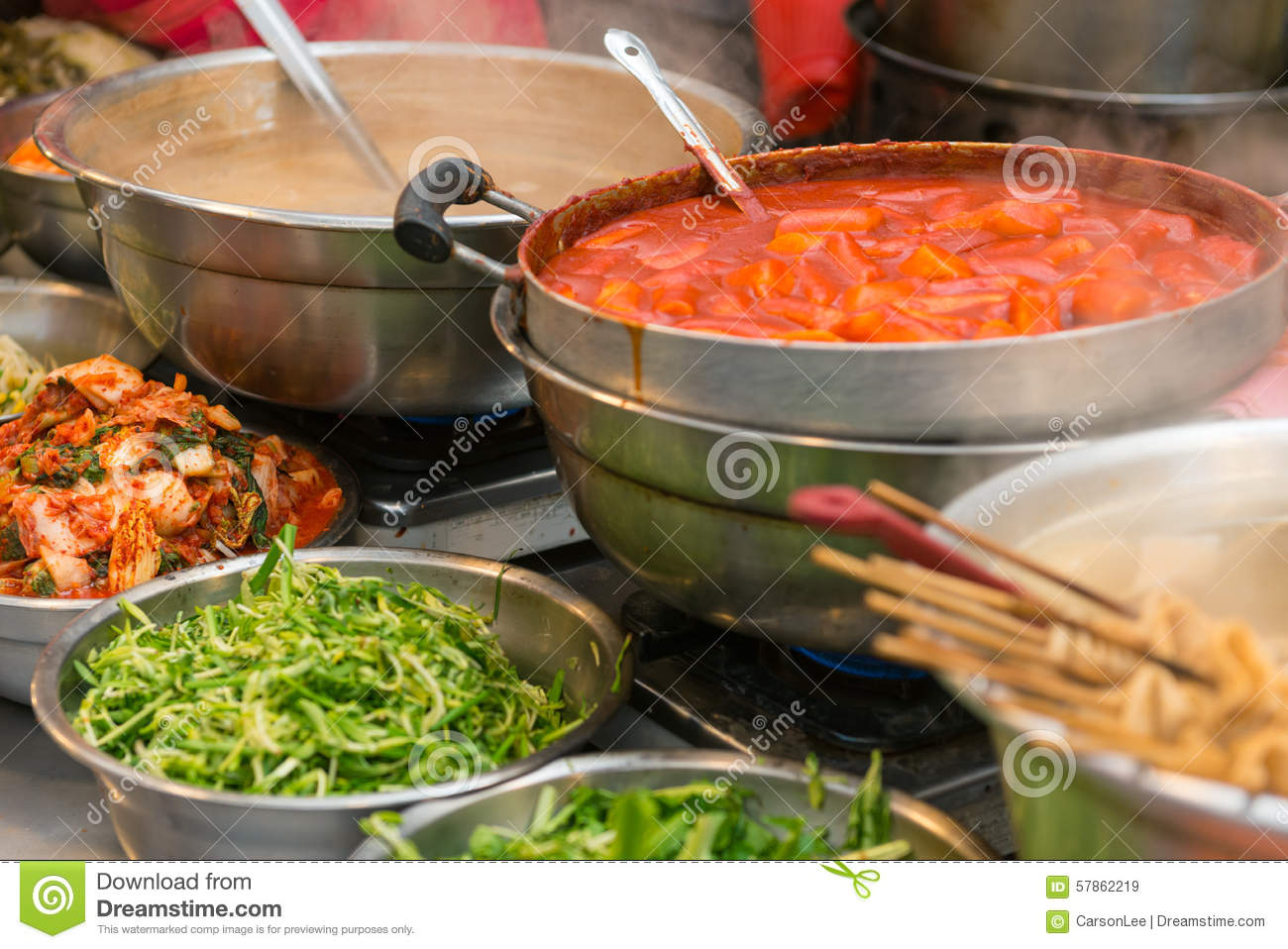 Korean food stock photo image 57862219 for Authentic korean cuisine