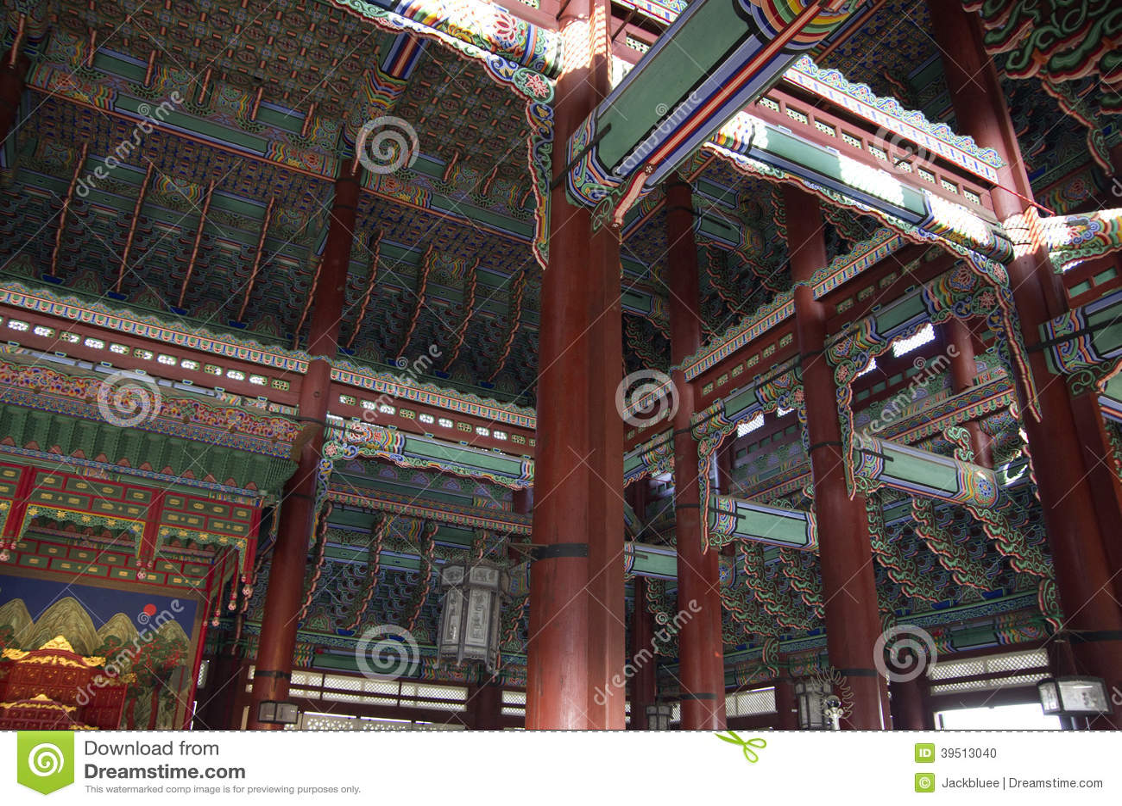 Korean Palace architecture Gyeongbokgung