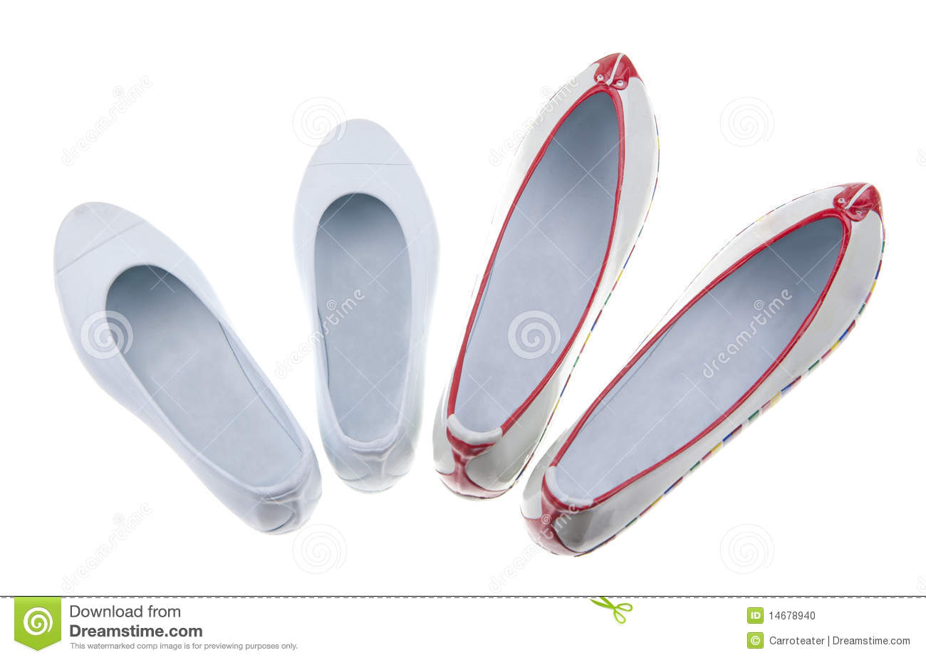 Korean Traditional Rubber Shoes Stock Photo Image 14678940
