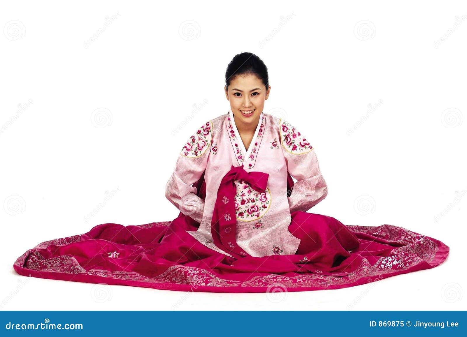 Koreanische Dame