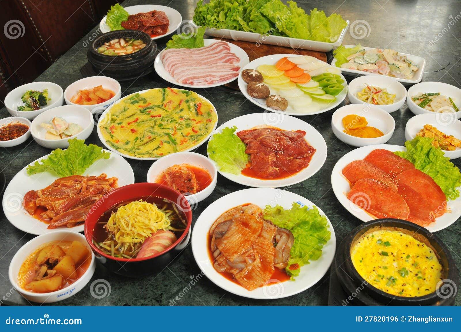 koreanische küche lizenzfreies stockbild - bild: 27820196