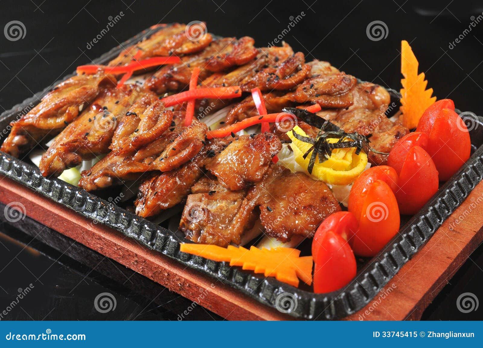 koreanische küche lizenzfreies stockfoto - bild: 33745415