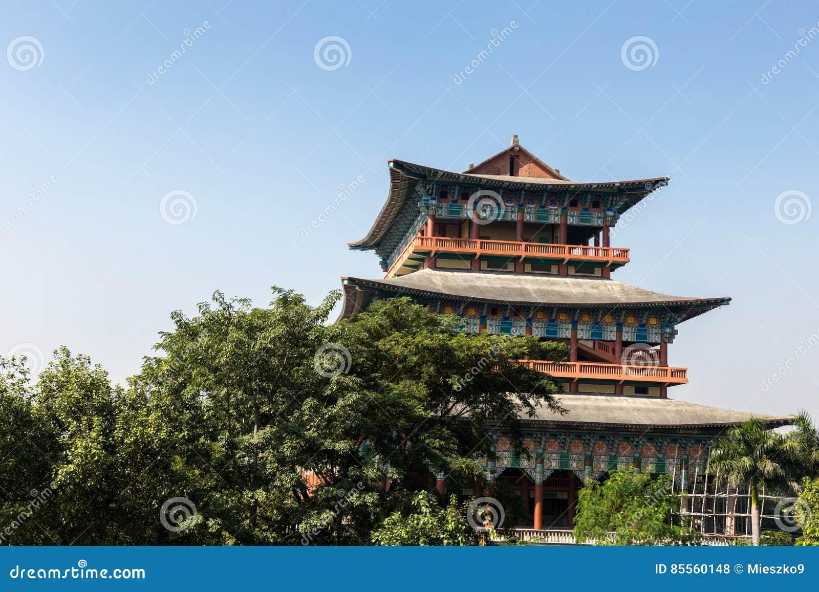 Koreanischer Tempel, Lumbini, Nepal