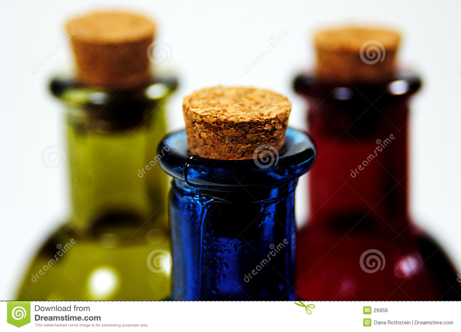 Korkade flaskor