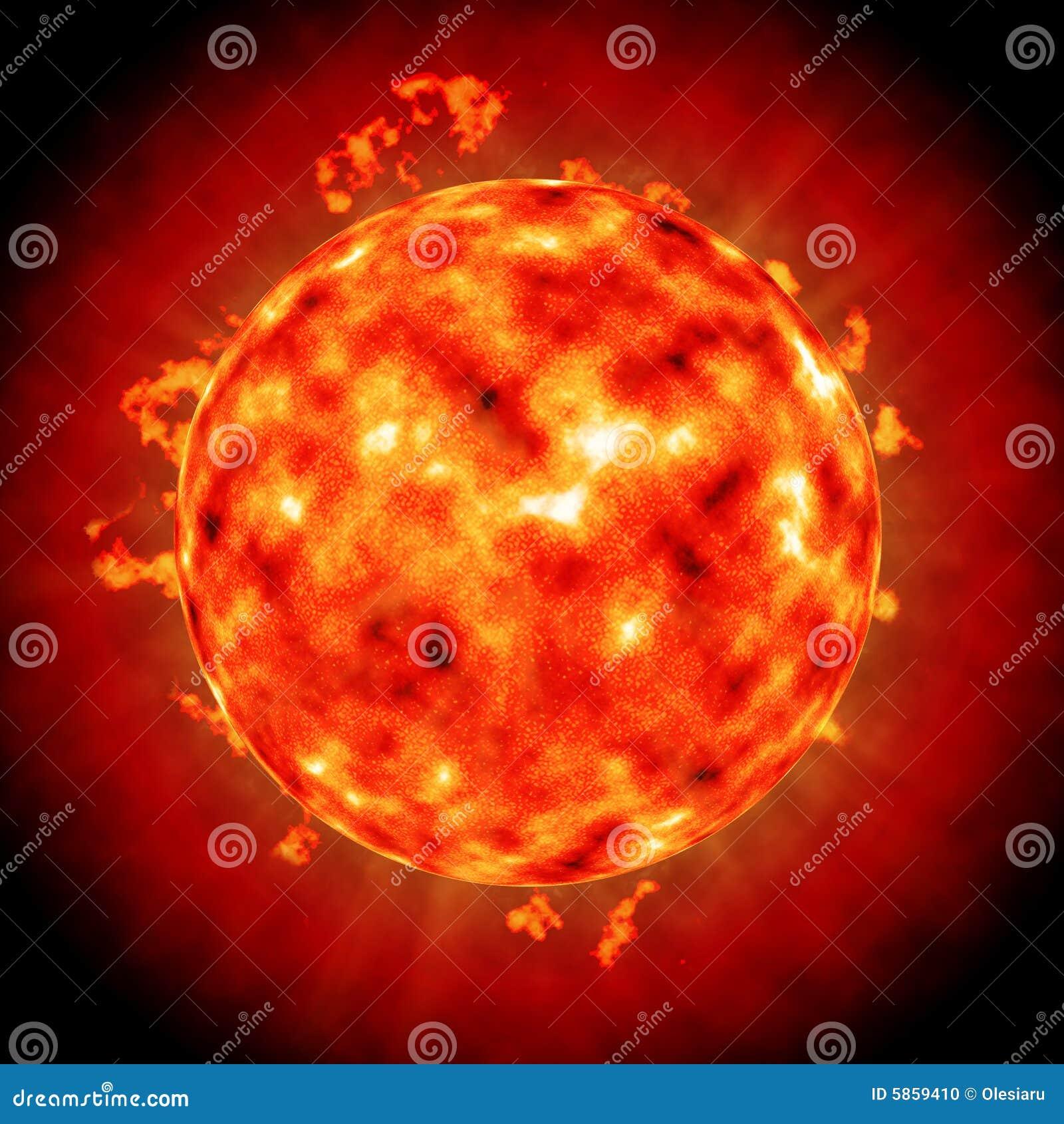 Korona dysk poczesności słońce