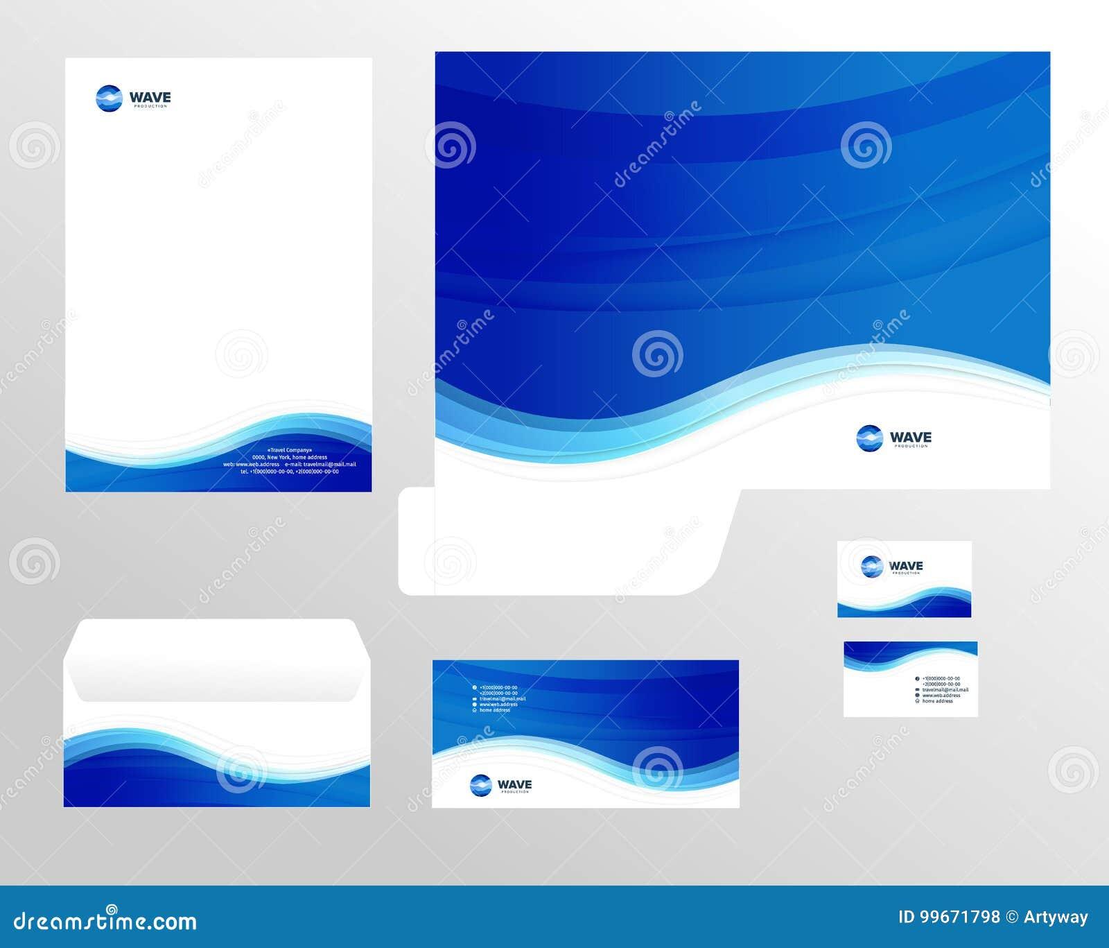 Korporacyjnej tożsamości szablonu projekt, wizualny marketingu gatunek, biznesowy tożsamość set Karta, letterhead, koperta, falcó