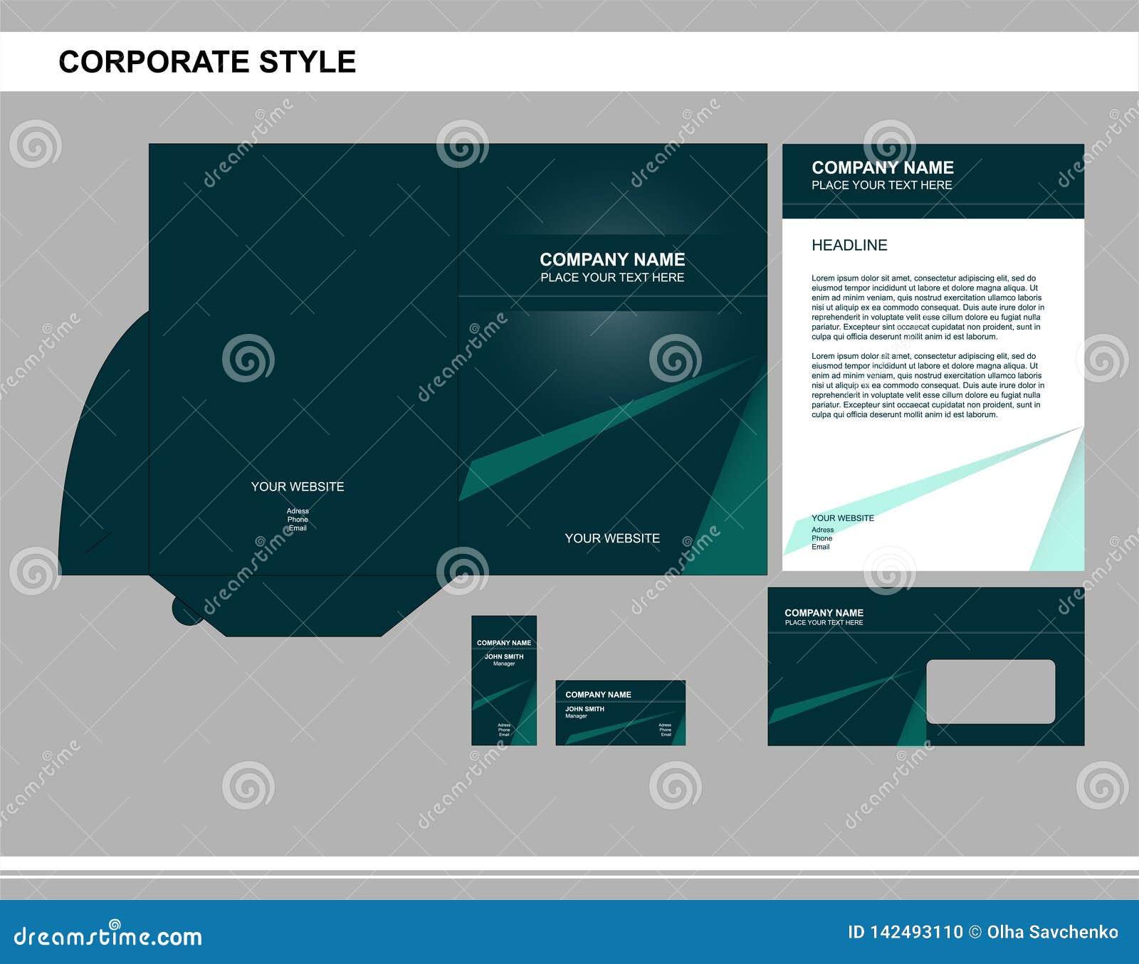 Korporacyjny styl, biznes, oznakujący, reklamujący
