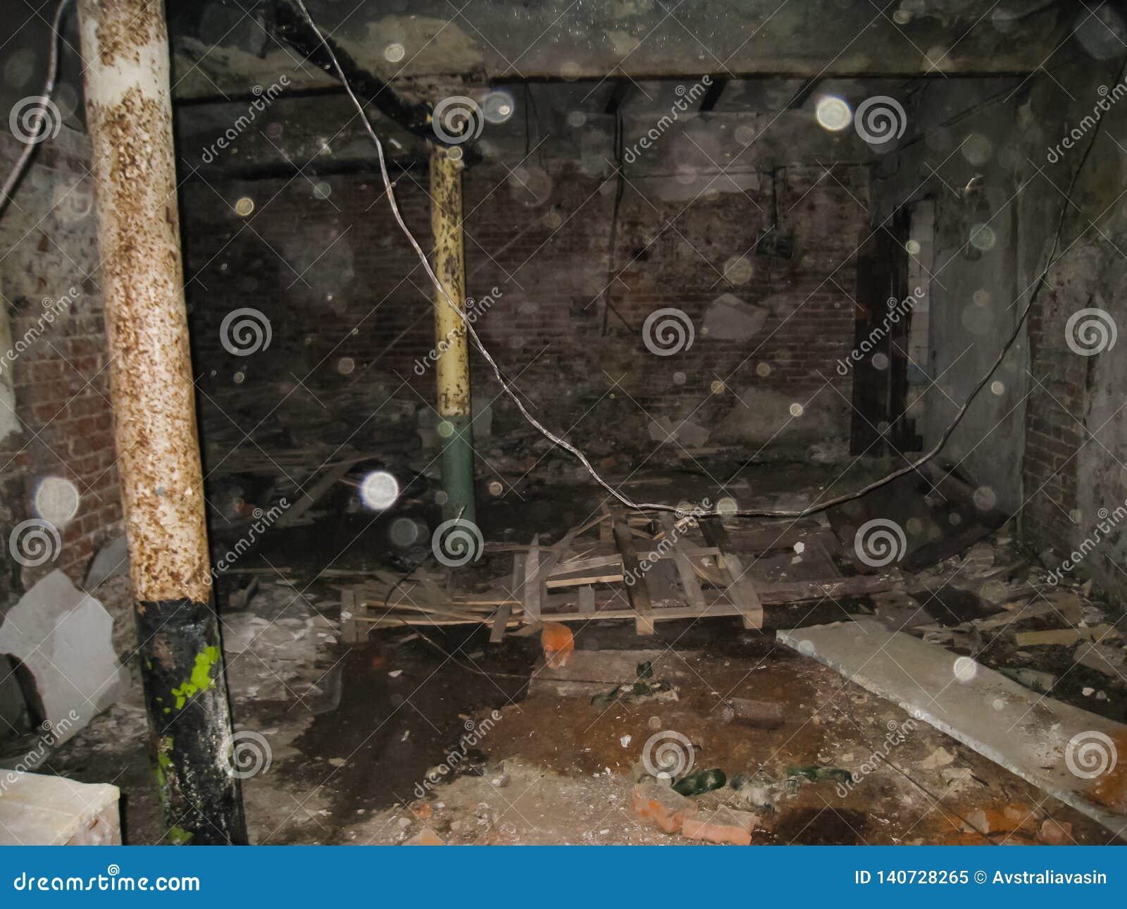 Korpsen en kelderverdiepingen dorm in Khamovniki