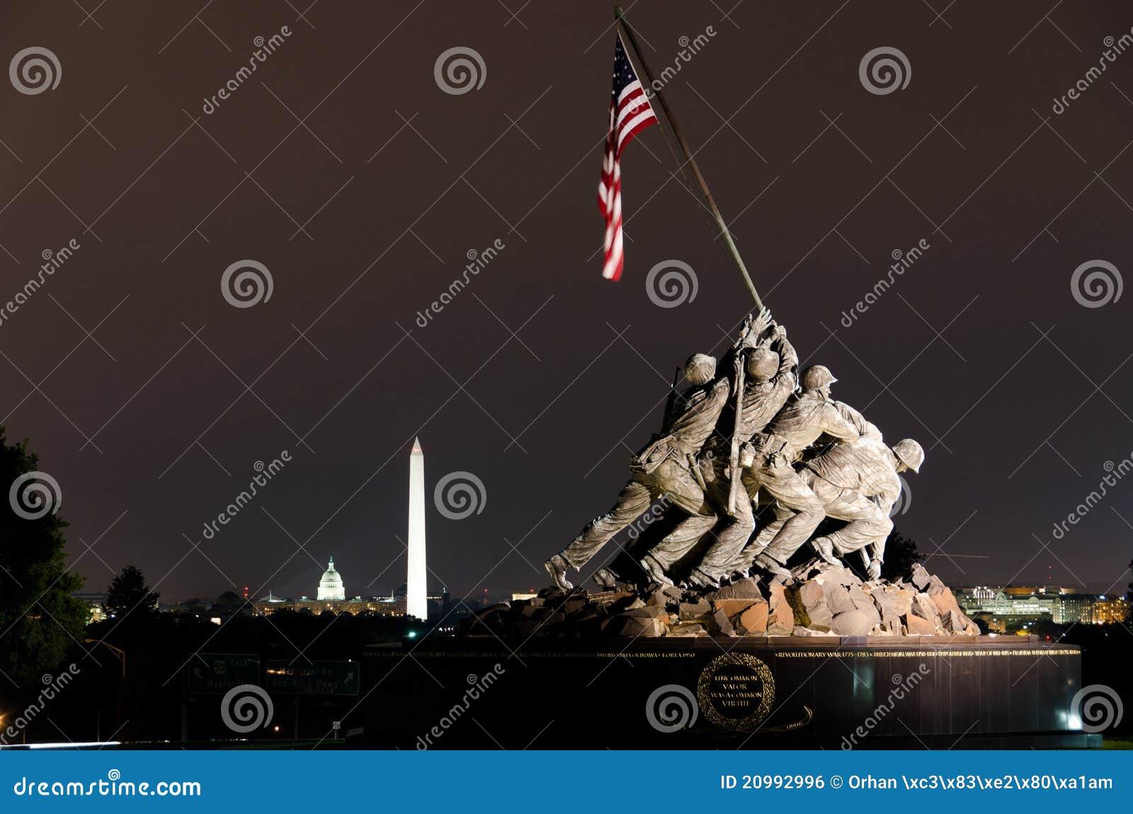 Korpusów dc morski pomnik my usa Washington