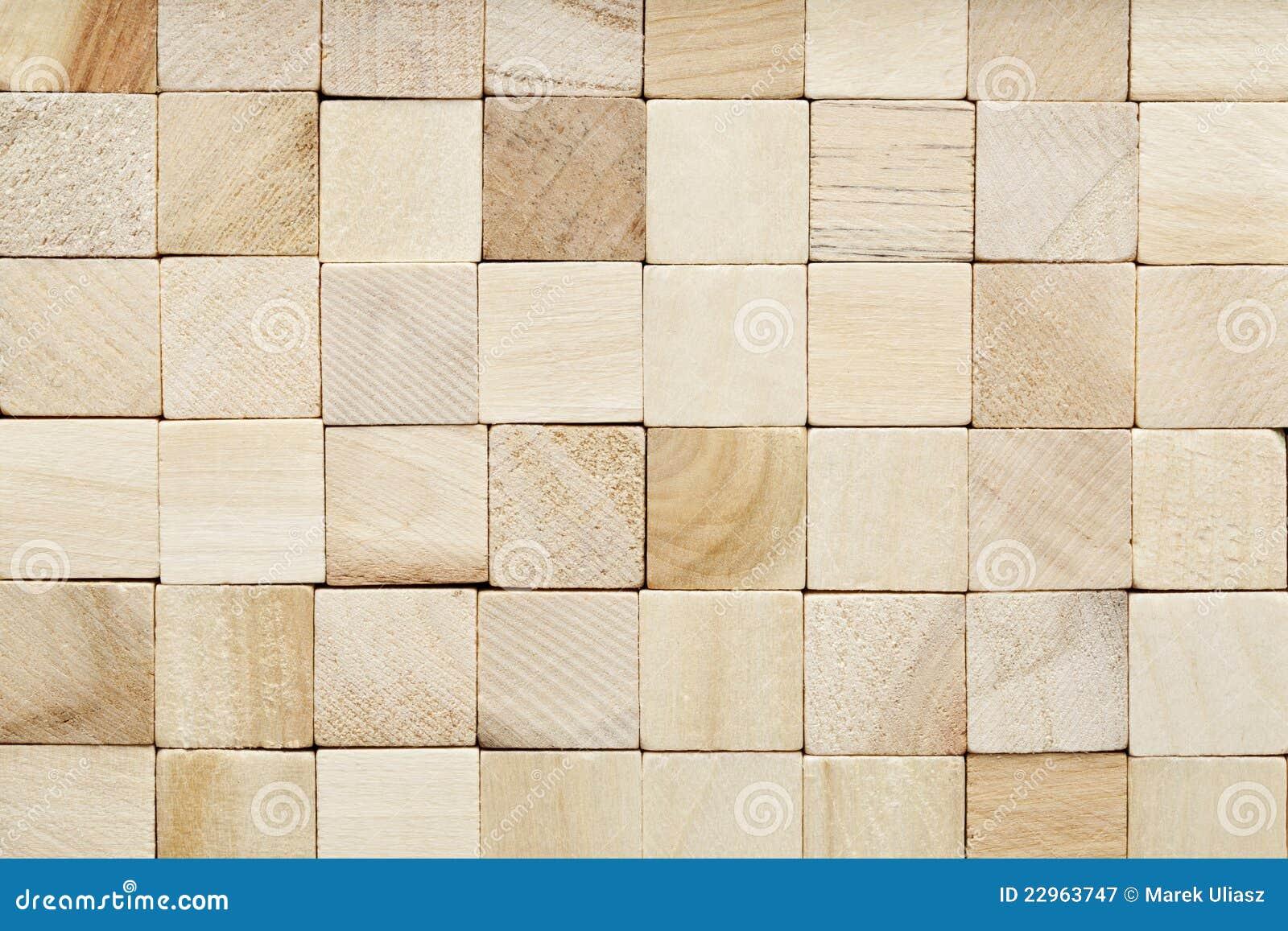 Korrel houten blokachtergrond