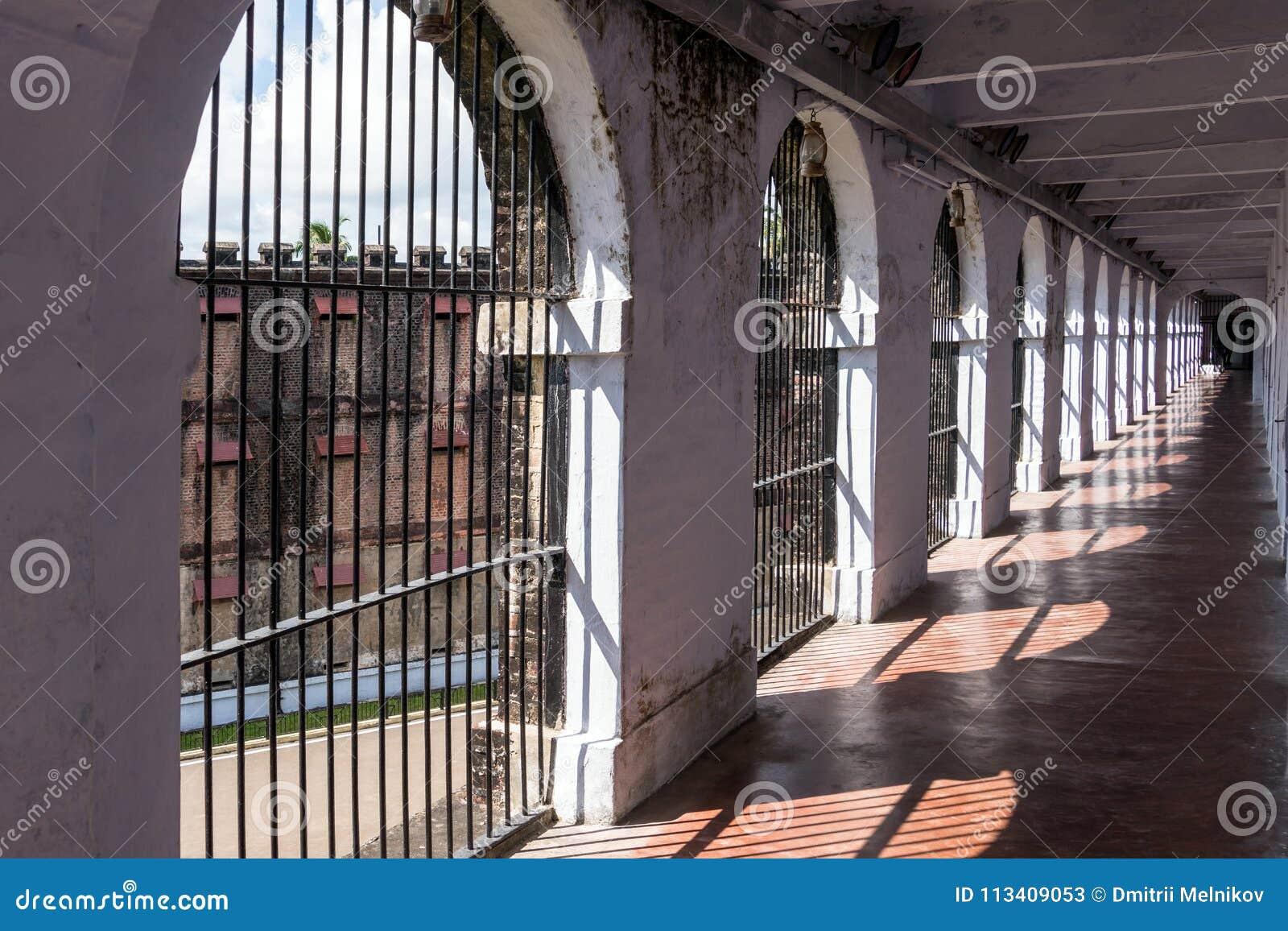 Korridor i den cell- arresten, Port Blair
