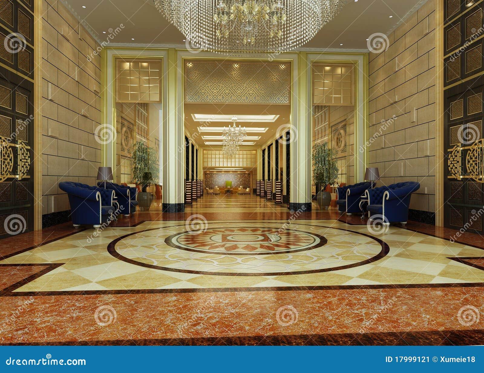 Korridorhotellframförande