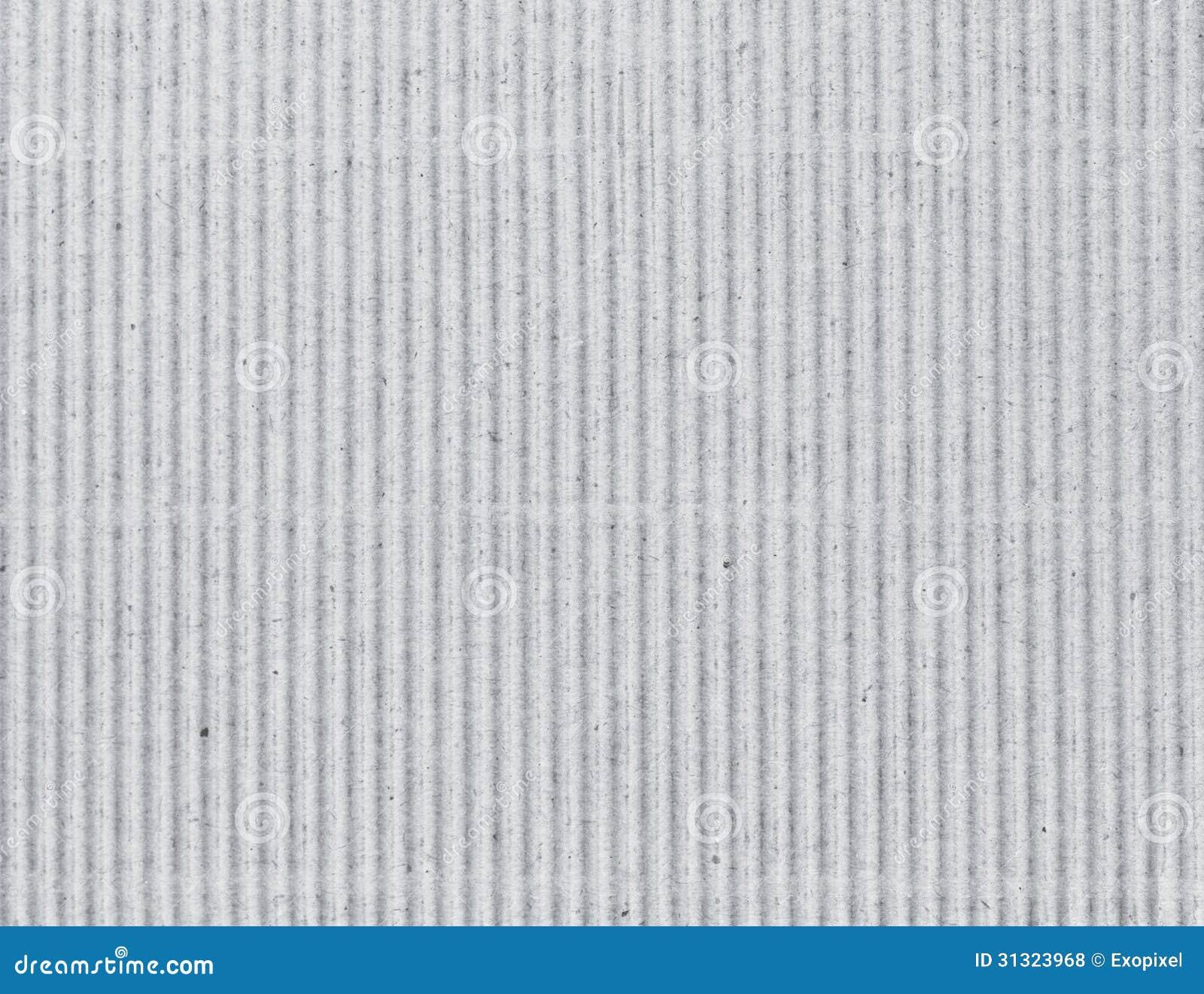 Korrugerad grå papp som bakgrund