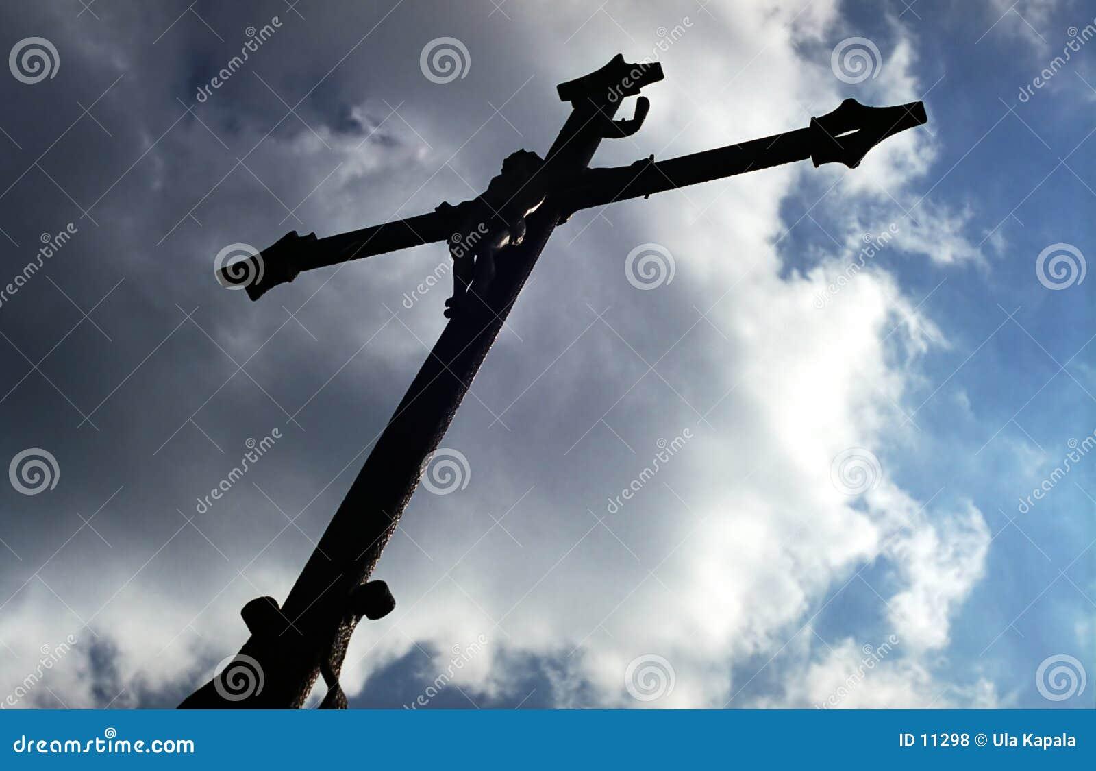 Korsa silhouetten
