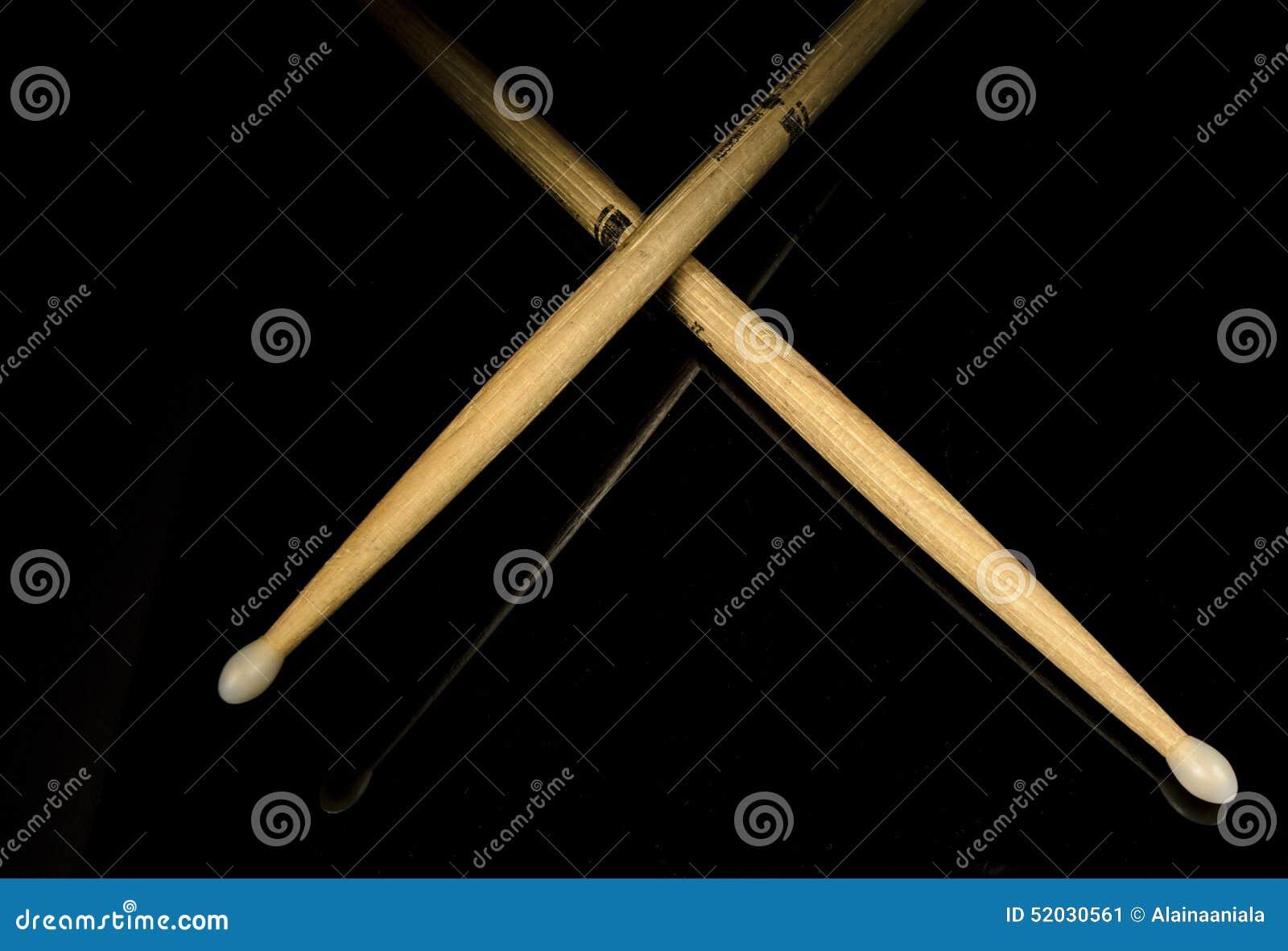 Korsade drumsticks