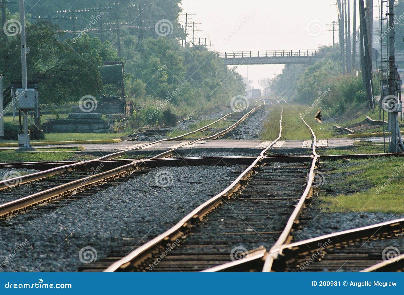 Korsande järnväg