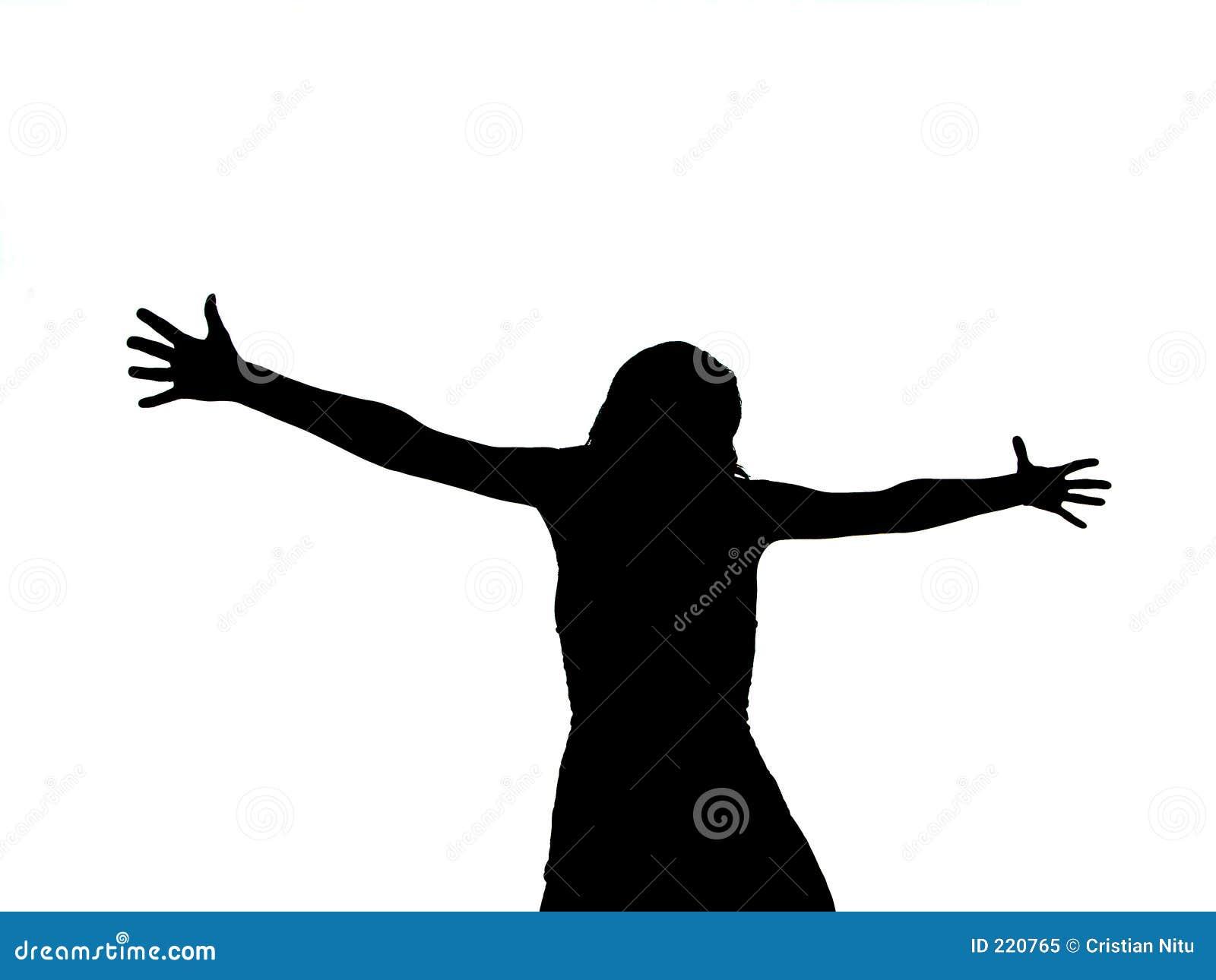 Korsfäst kvinna
