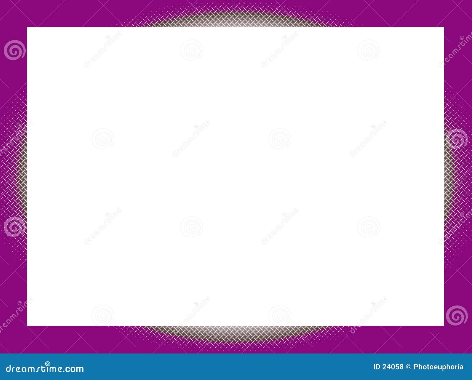 Korsmönstrad purple för kant