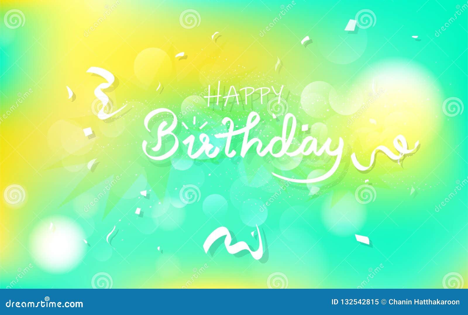 Kort för lycklig födelsedag och lyckönskan, berömparticallig