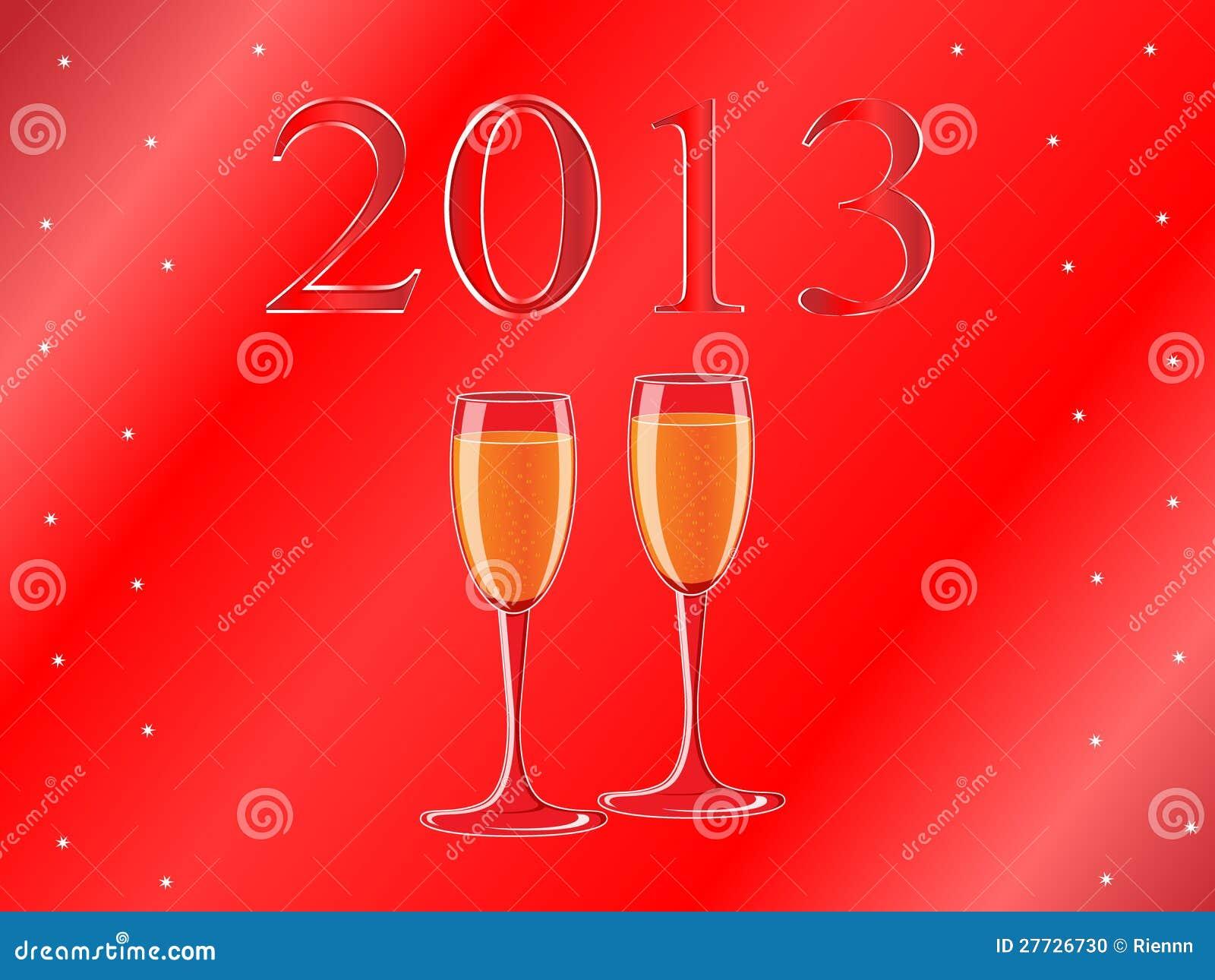 Kort för nytt år