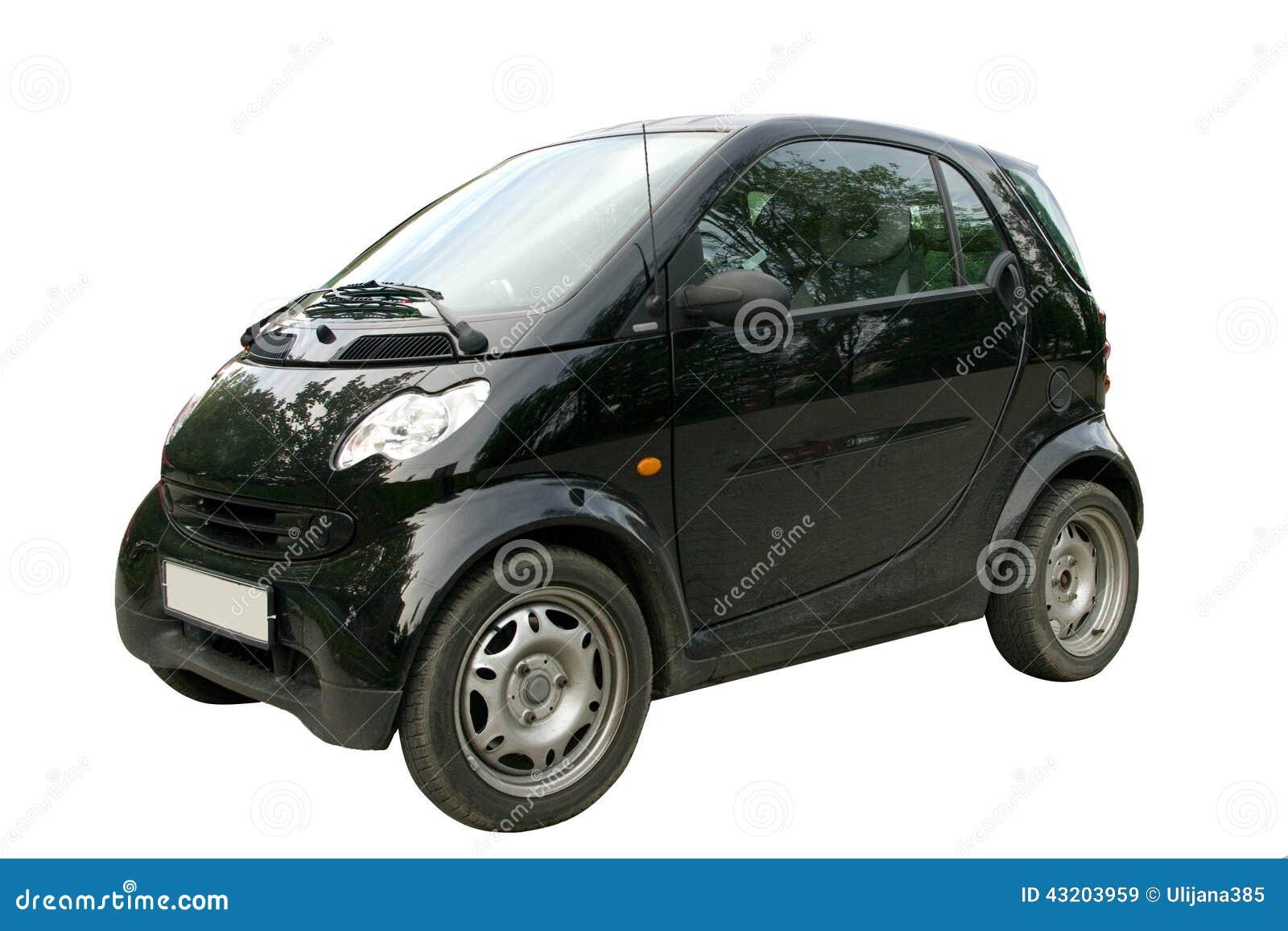 Download Kortkortet Isolerade Smart Fortwo För Svart Bil Fotografering för Bildbyråer - Bild av mini, livsstil: 43203959