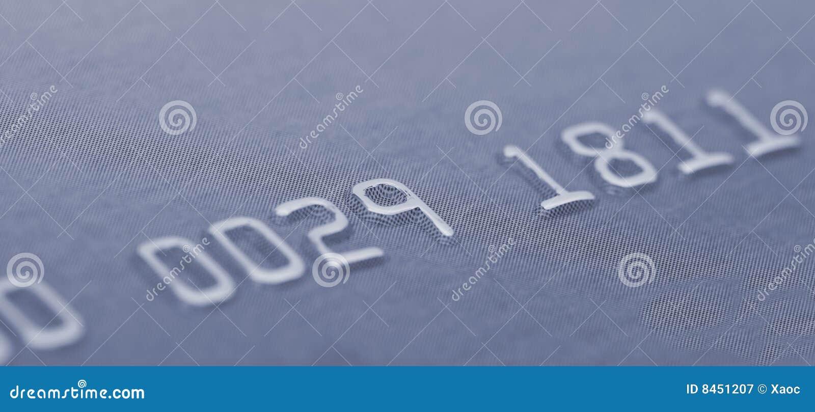 Kortkrediteringsnummer