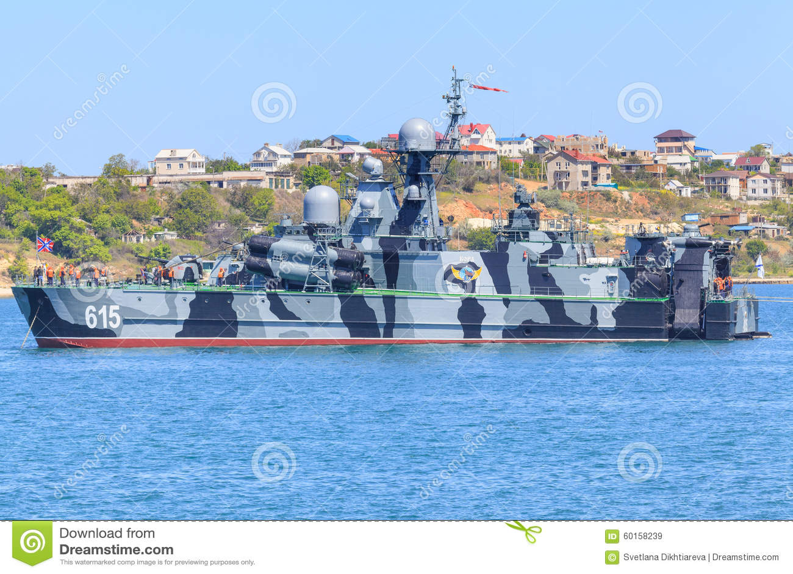 Korvette der russischen Marine-Schwarzmeerflotte