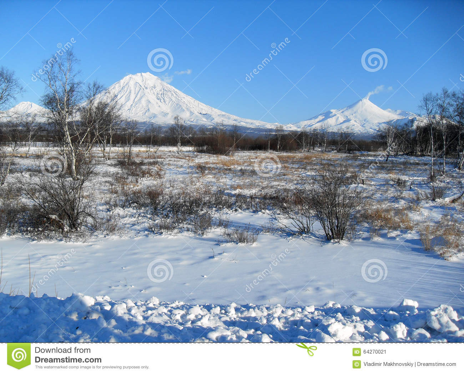Koryak and Avacha volcanoes