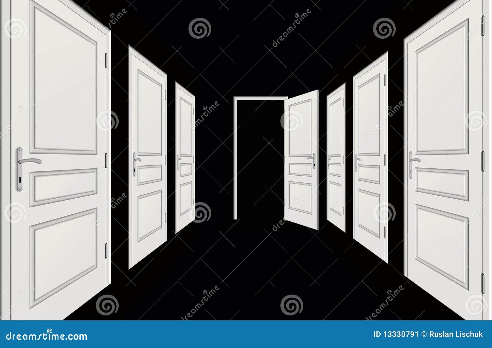 Korytarzy drzwi