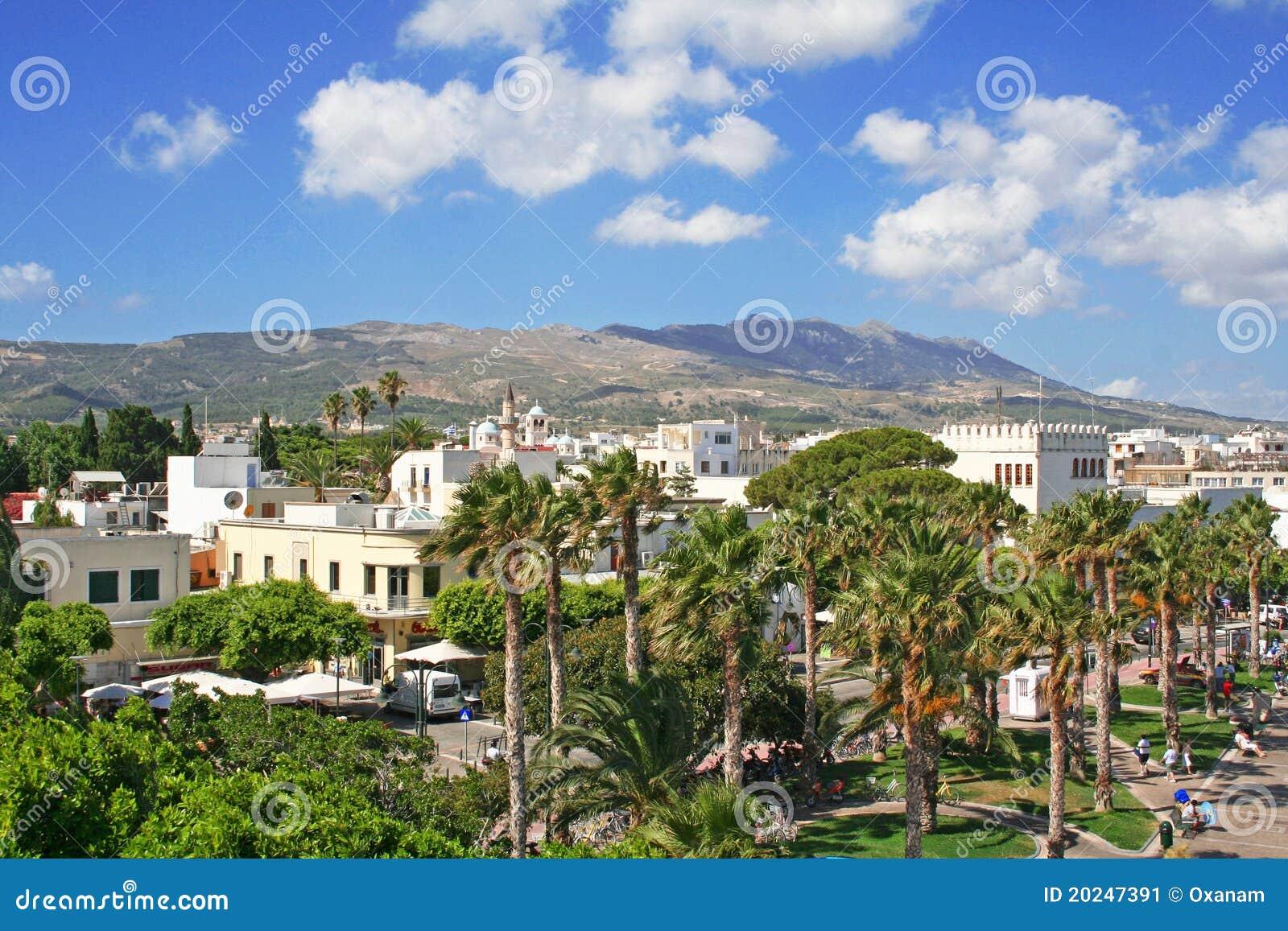 Kos острова Греции dodecanesse
