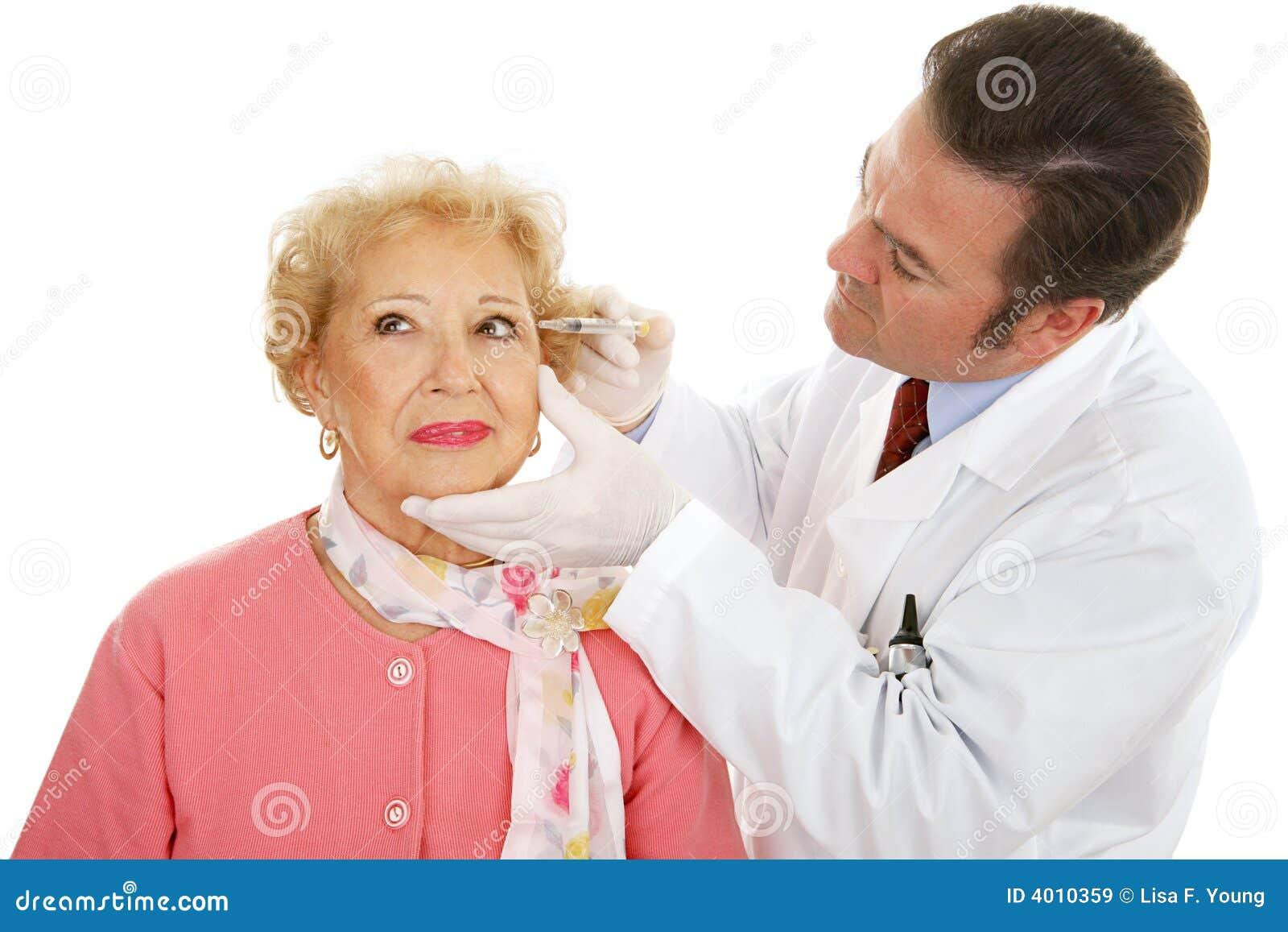 Kosmetische Chirurg op het Werk