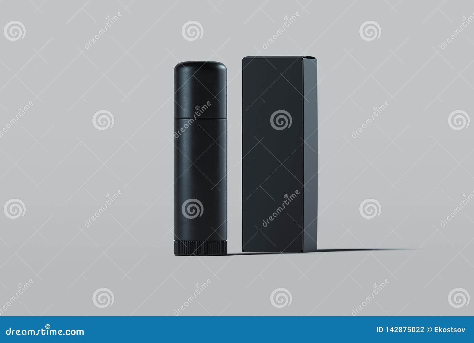 Kosmetische plastic container lippenpommade Het pakket van het schoonheidsproduct het 3d teruggeven