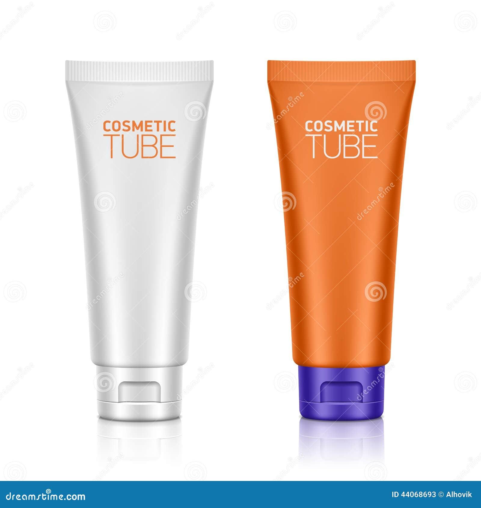 Kosmetische verpakking, plastic buis