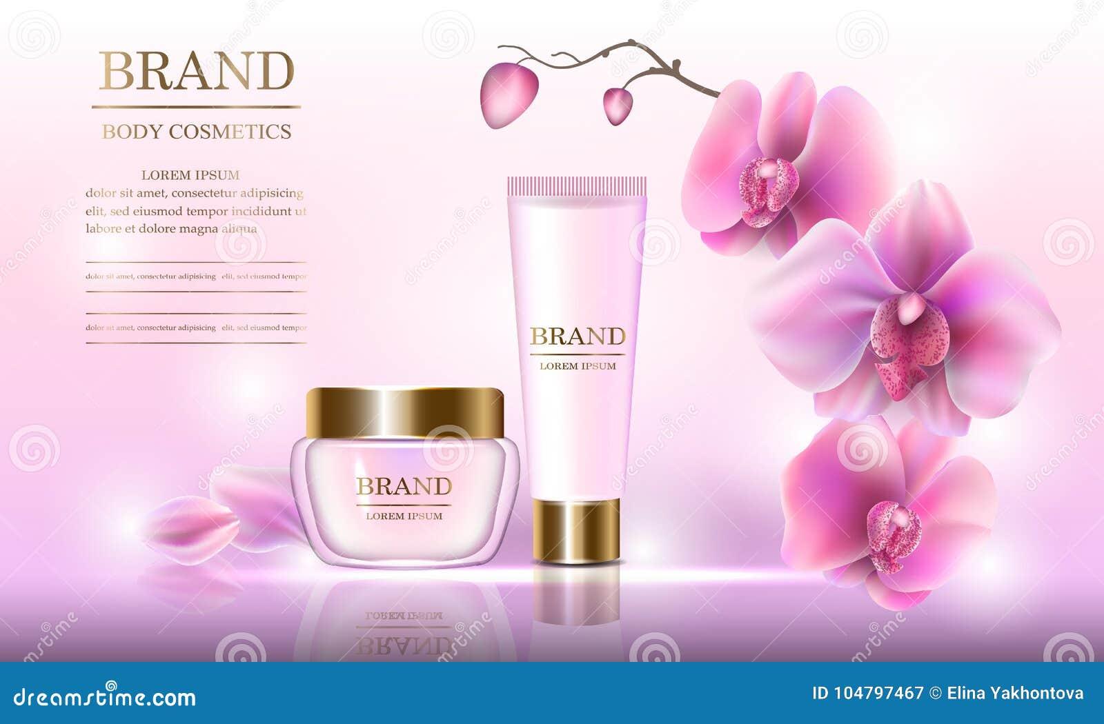 Kosmetischer Schönheitssatz Creme Für Den Körper Für Hautpflege Mit ...