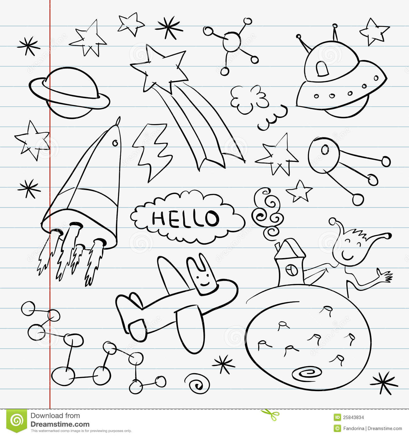 astronomy doodles - photo #35