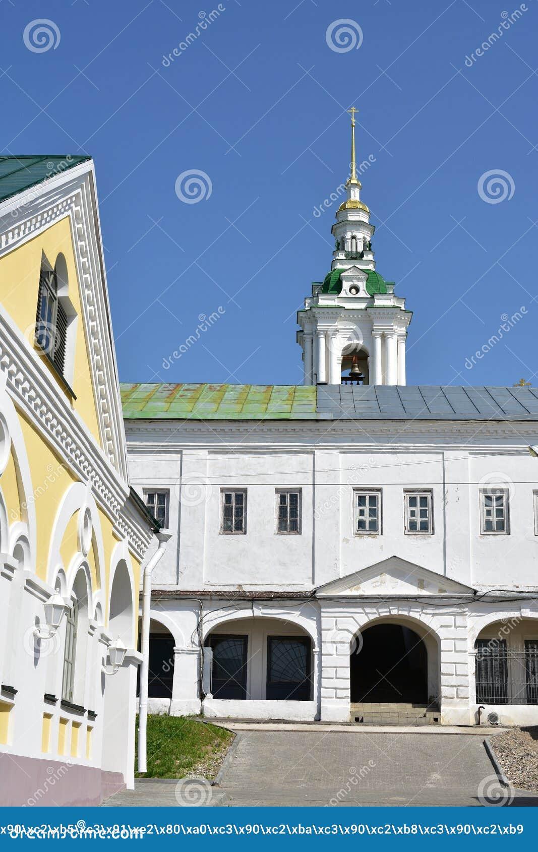 Kostroma en 1766, ils ont érigé une église en pierre