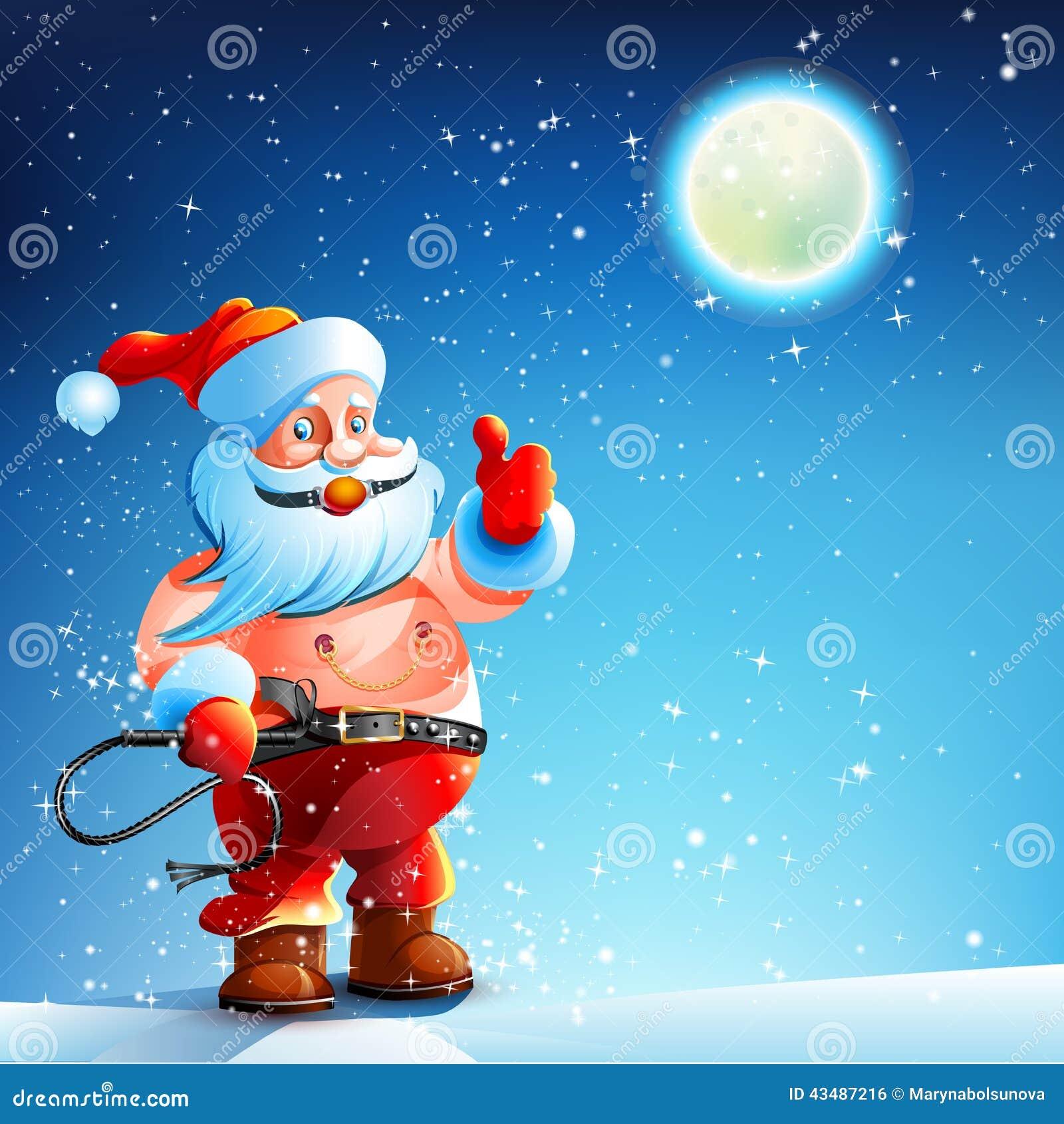 Kostuum BDSM Prop Santa Claus