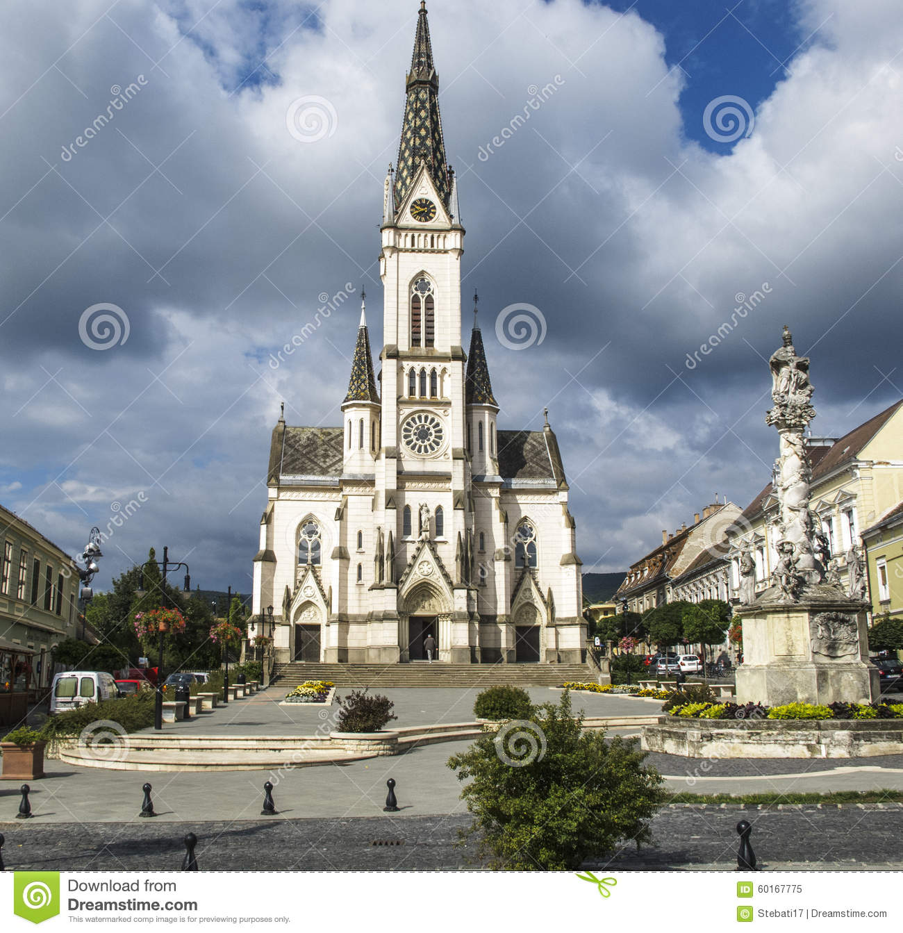 Koszeg Hungary  City new picture : Koszeg Hungary Europe Church Of The Sacred Heart Editorial Image ...