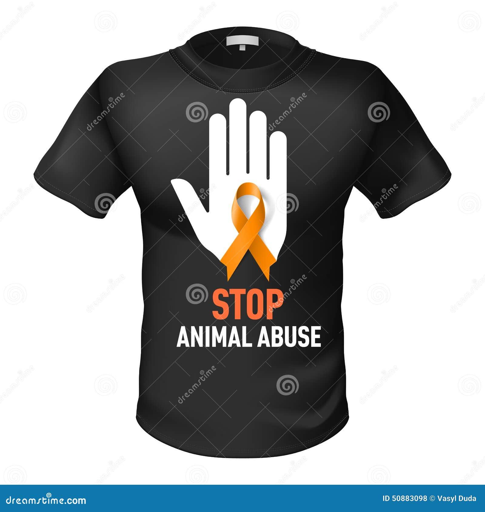 Koszulki zwierzęcy nadużycie