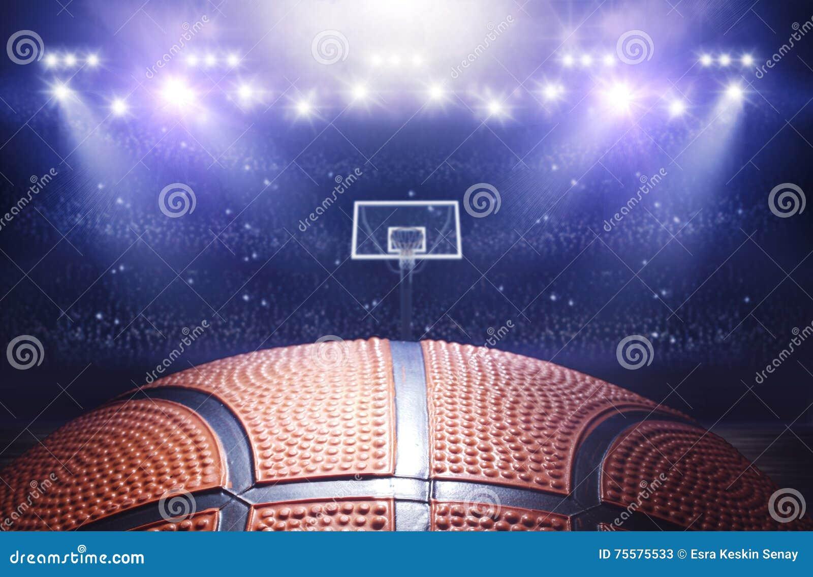 Koszykówki arena 3d