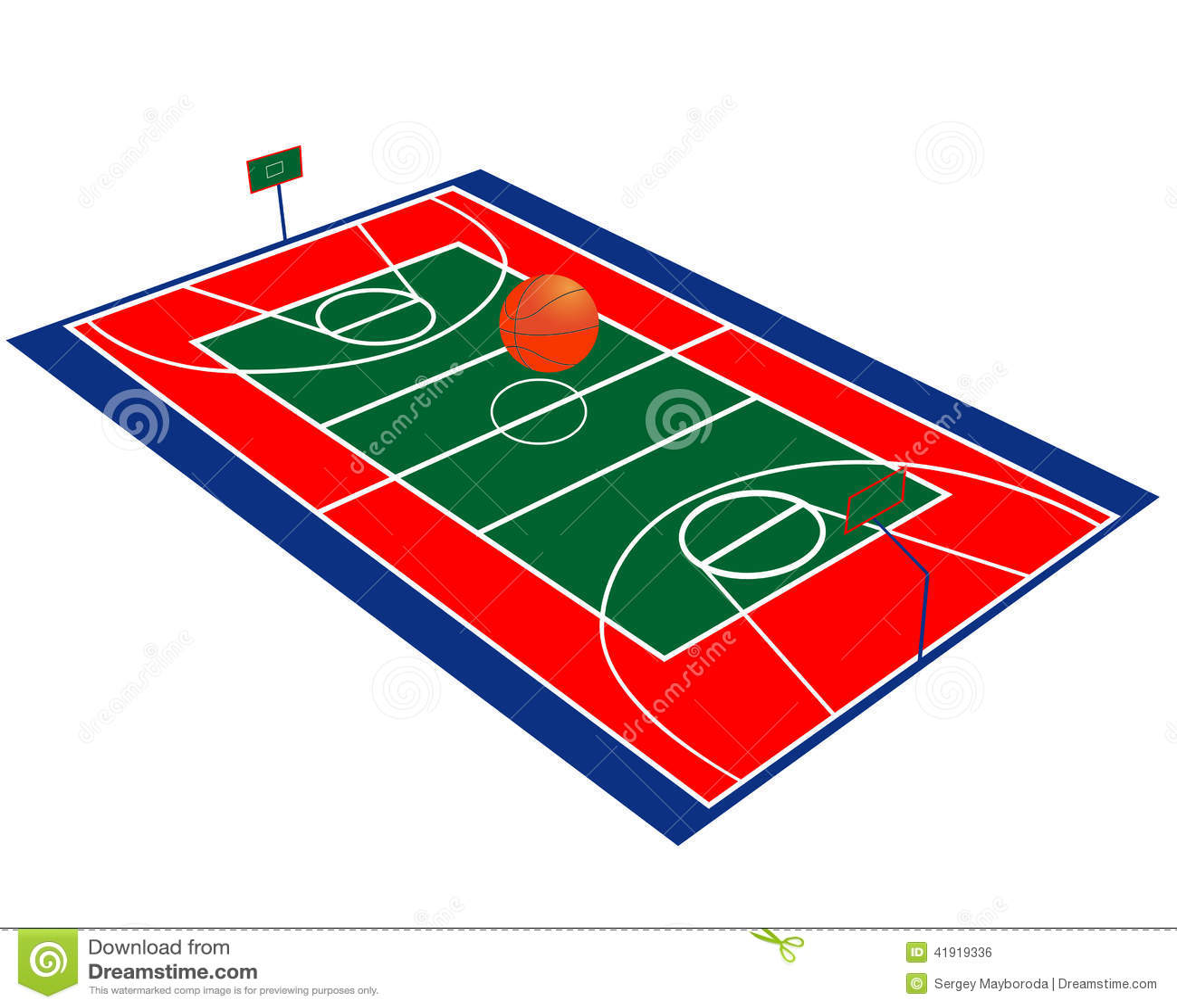 Koszykówki pole
