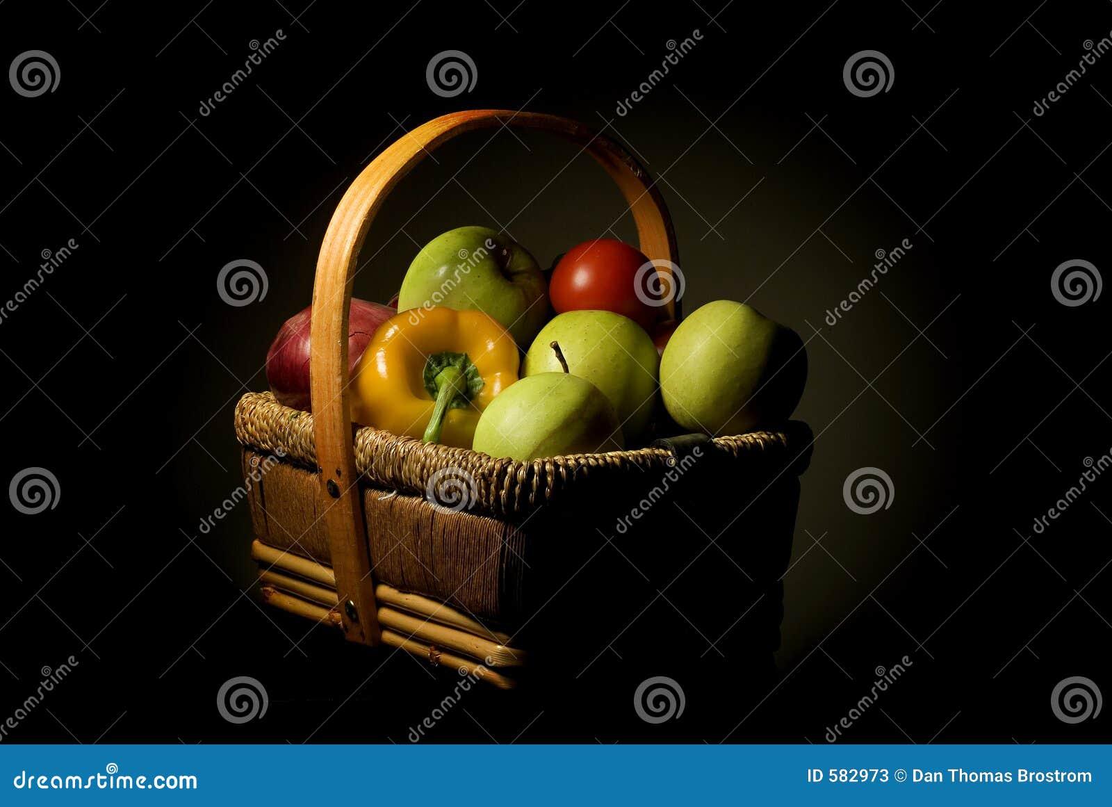 Koszykowa owoców
