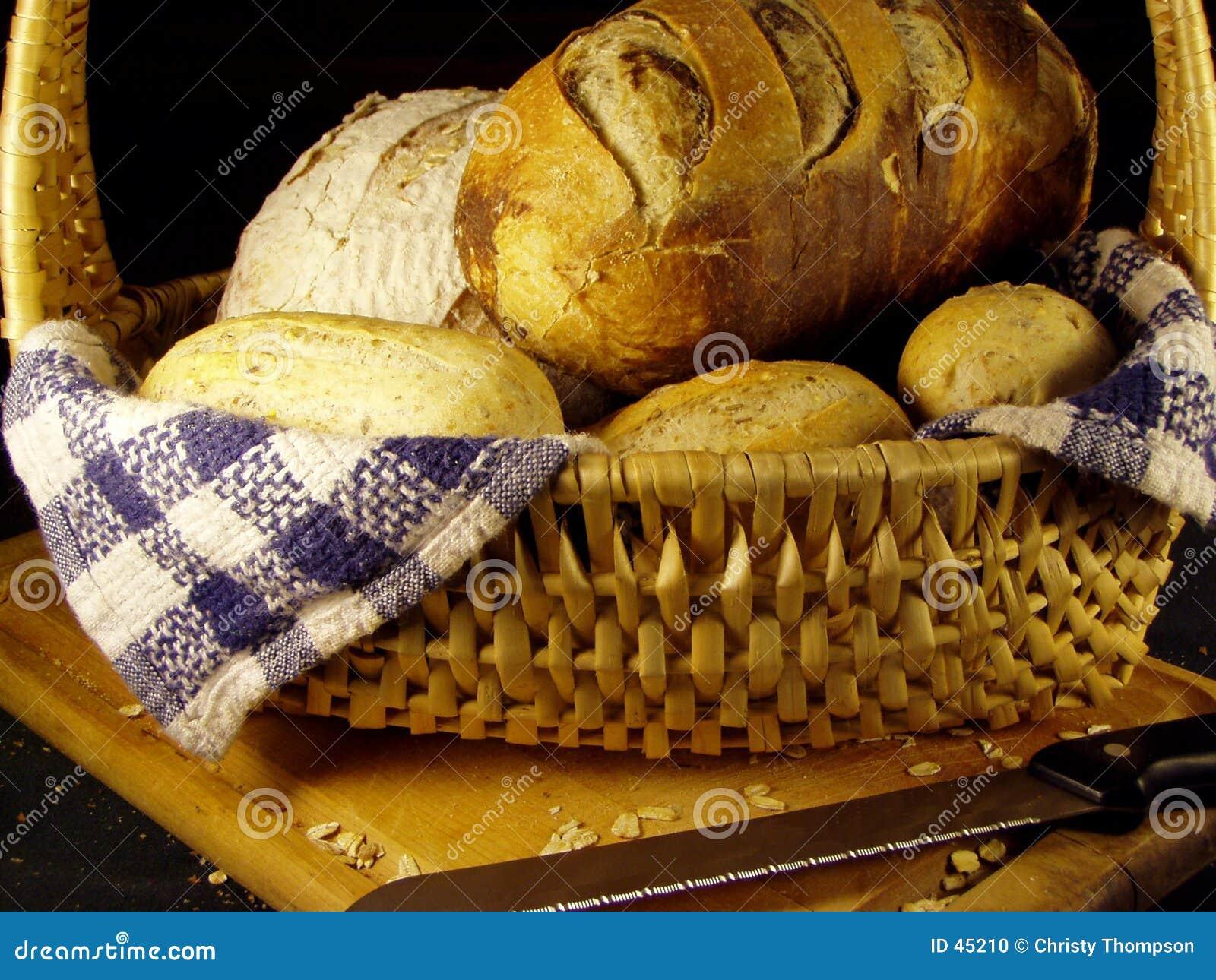 Koszykowy chleb.