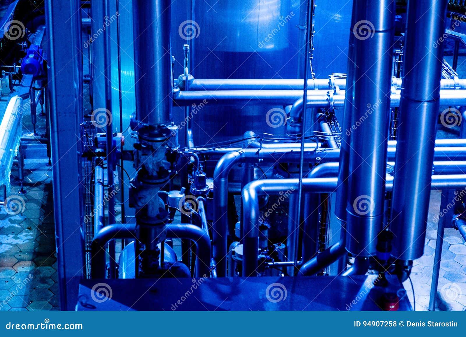 Kotłowych wyposażenia grzejnych manometrów nowożytna rurociąg pompowego pokoju systemu klap woda Rurociąg, pompa wodna, klapy, ma