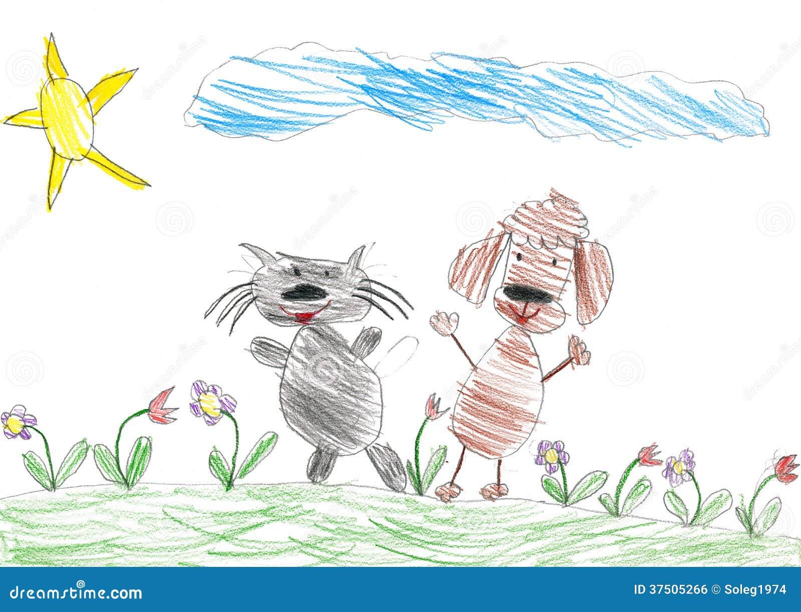 Rysunek Kot Obrazek Dla Dzieci