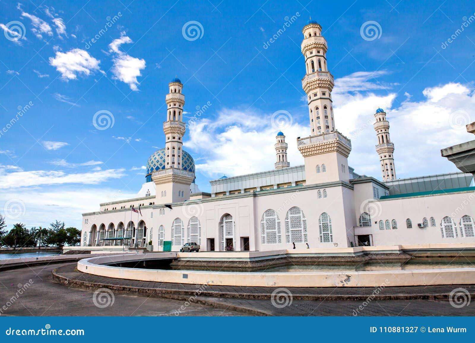 Kota Kinabalu City Mosque, Sabah, Bornéo, Malaisie