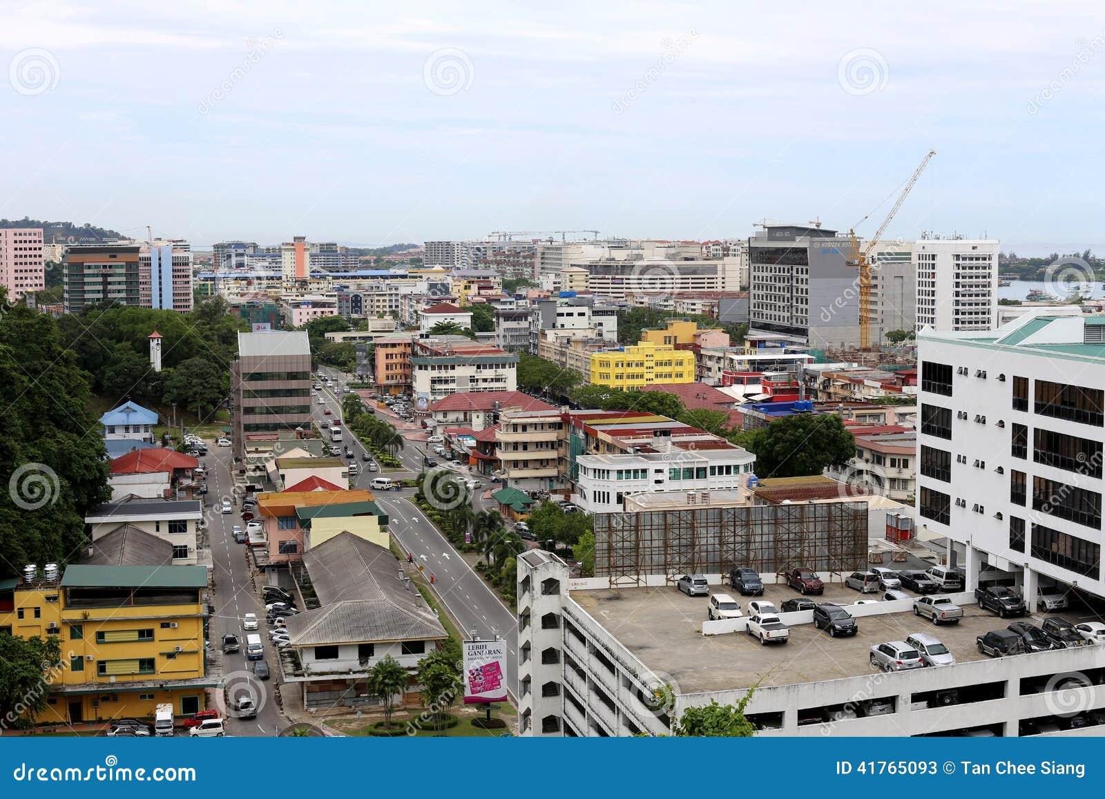 Kota Kinabalu Sabah Malaysia Redaktionelles Stockfoto Bild Von