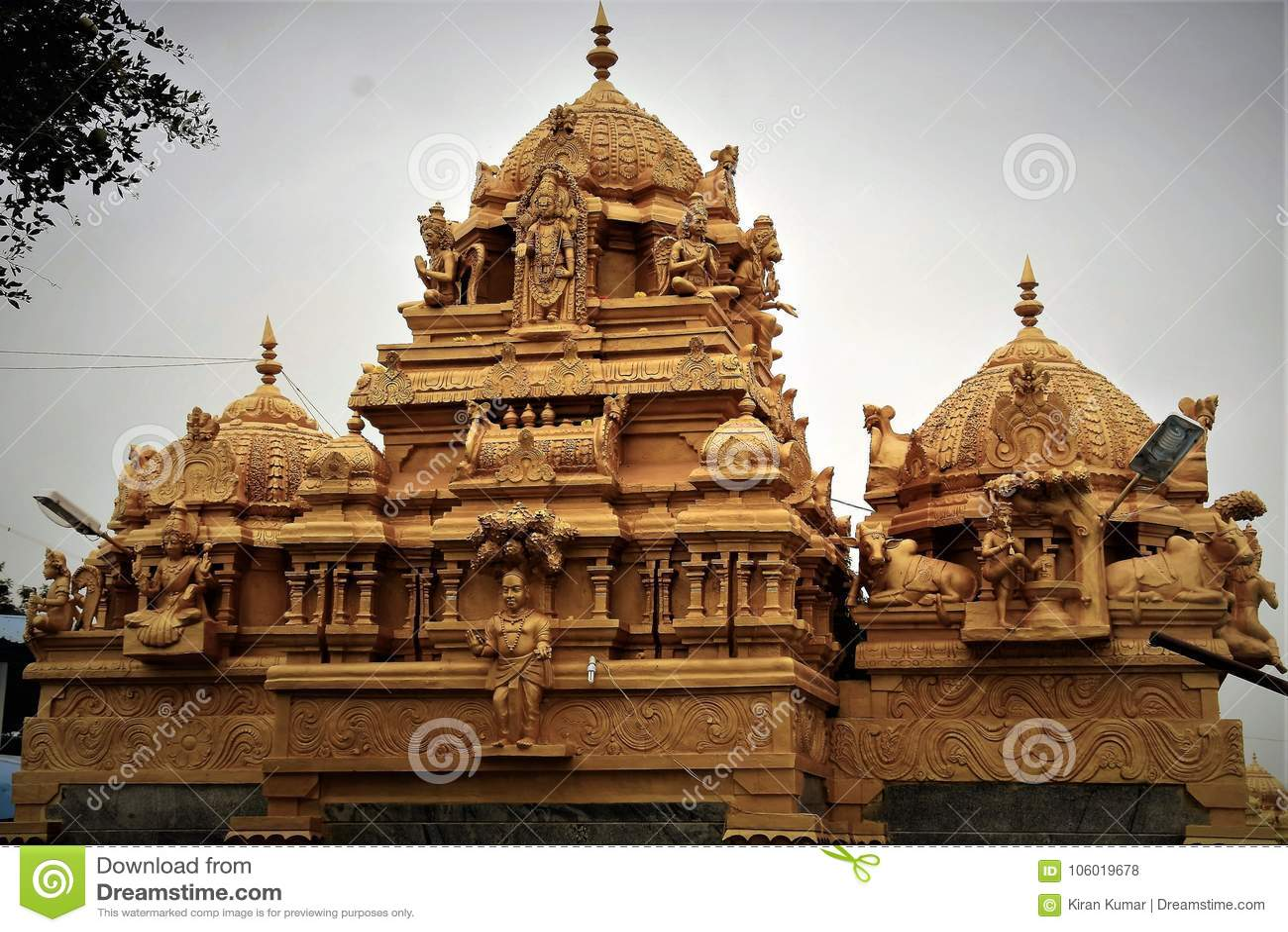 Kotilingeshwara Temple Stock Photo Image Of Karnatakaka 106019678